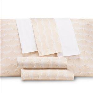 AQ Textiles  Modernist Printed Shell 6-Pc …